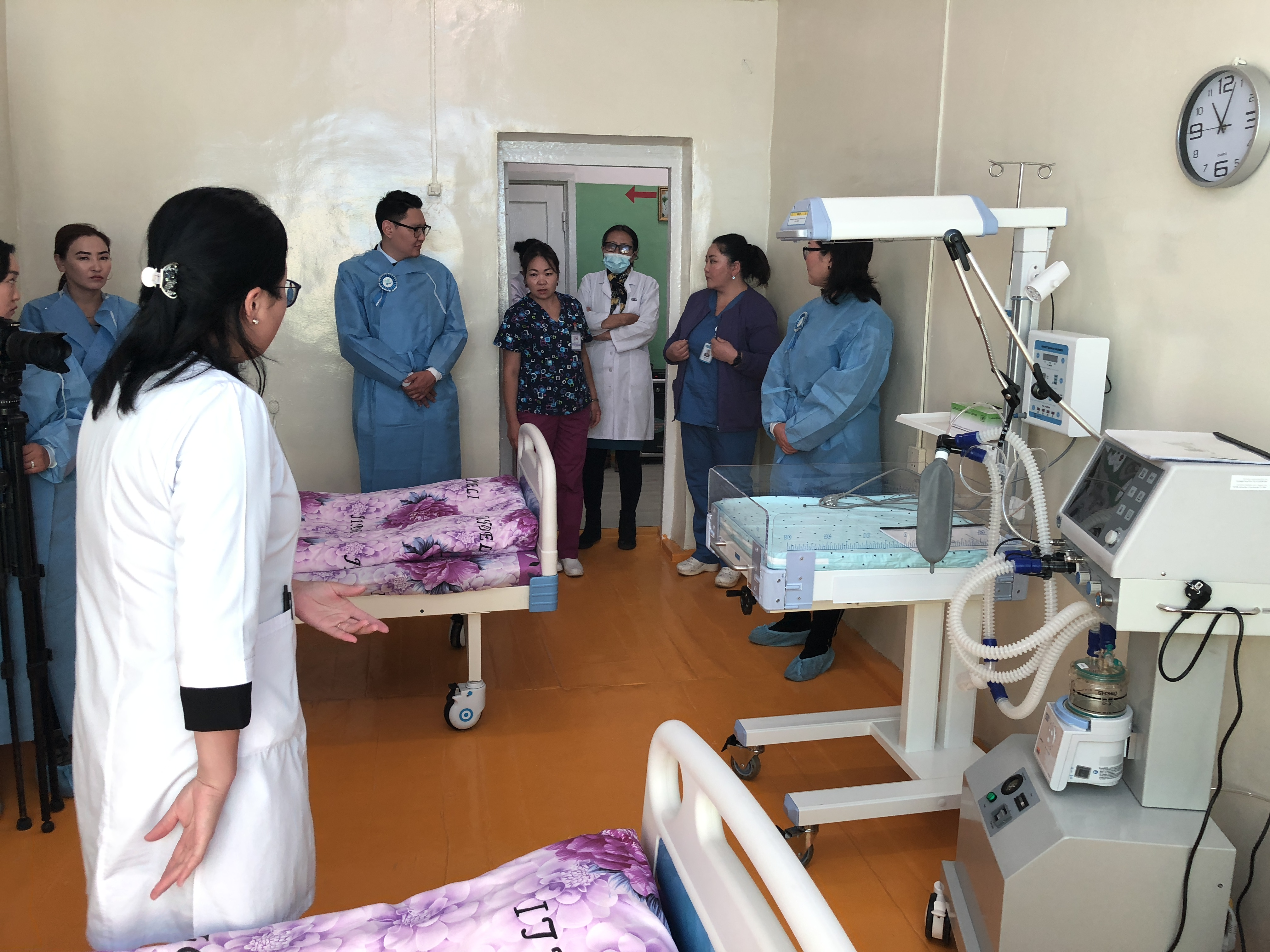 Regional Diagnostic and Treatment Center in Khovd province, 2018