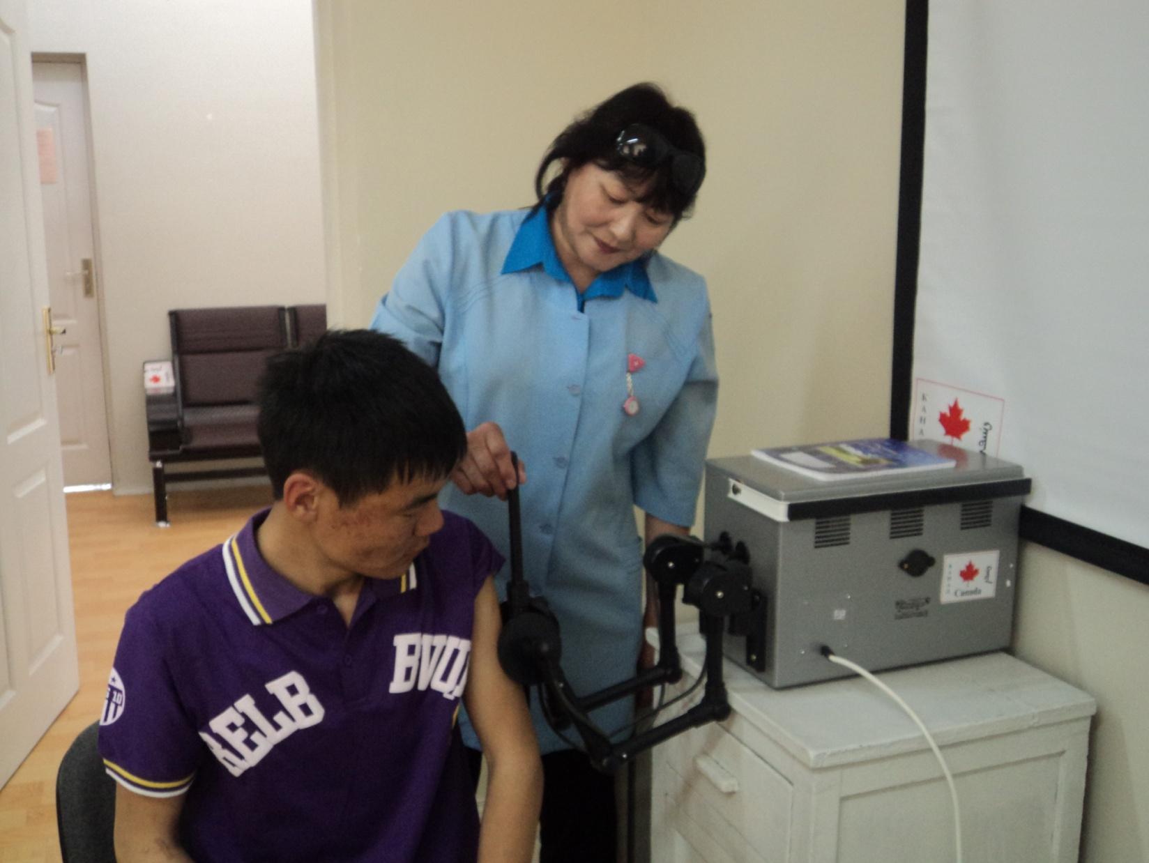 Baruun Zuunmod FGP clinic, Tuv province, 2010.01